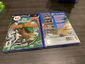 Pony-World-Clever-Kids-PS2-Versiegelt-Neu-IN-Spanisch-Portugiesische