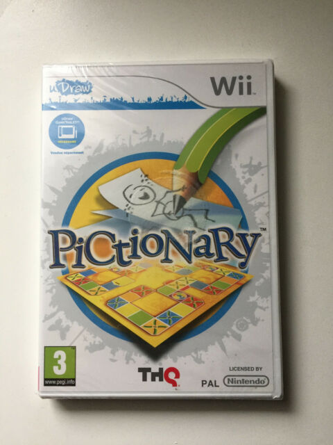PICTIONARY WII NEUF SOUS BLISTER