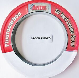 ANDE FLUOROCARBON LEADER SPOOL>>>FREE>>>WARP SPEED>>>>>SHIPPING>>>>>>>