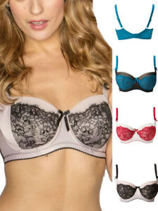 Pour Moi Mystique Underwired Bra 8902 Womens Non-Padded Bras