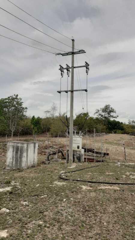 Se vende rancho a orilla de carretera federal Tizimin-Valladolid