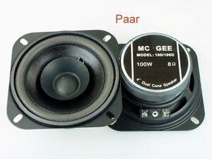 Breitband Lautsprecher Chassis MCGee 100 Watt 100mm