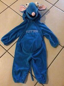 Disney Store Tutter Mouse Costume 12m Halloween Baby Infant Bear Big