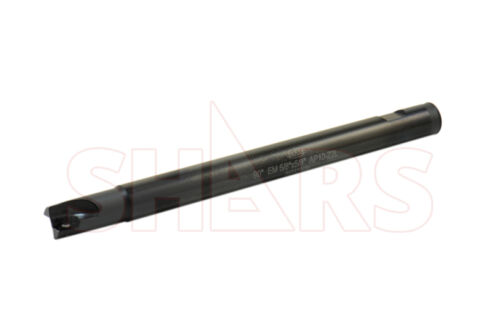 """SHARS 5//8/"""" 90 Degree Indexable End Mill OAL 7-7//8/"""" APKT Insert NEW"""