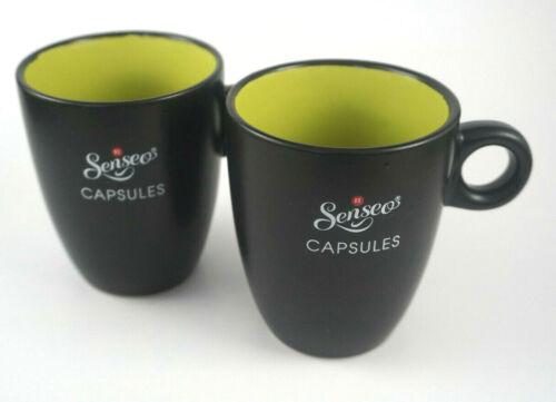 Senseo Kaffee Becher 2er Set Tasse Senseo Design Edition Lungo Elegante NEU OVP