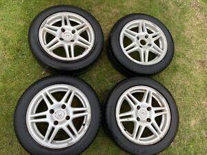 Honda-Civic-MB6-VTIS-15-Speedline-Alloys-With-Tyres-4x114