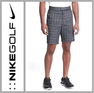 3846bc58 Details about NEW $90 Nike FLEX Men's Slim Fit Golf Shorts 854991-010  Black/Flat Silver Sz 36