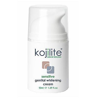 Kojilite Sensitive Genital Whitening Cream 50ml Lightening Anal Vaginal Scrotum
