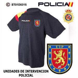 3c634e76e La imagen se está cargando CAMISETAS-TECNICAS-POLICIA-NACIONAL -UIP-UNIDADES-DE-INTERVENCION-