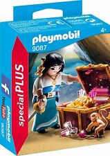 Playmobil Special 9087 Female Pirate Treasure Monkey Pirata NEW BOXED Worldwide