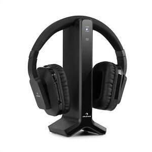 Ecouteur-sans-fil-Casque-bluetooth-20-m-2-4-GHz-AUX-3-5mm-batterie-8-heures-Noir