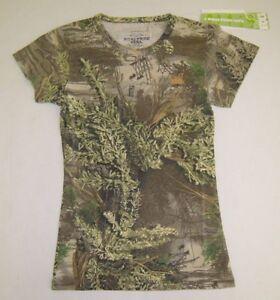 53a89857 Realtree Girl Ladies Max-1 Camo T-Shirt, Camouflage Shirt | eBay