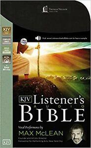 KJV-Listener-039-s-Audio-Bible-Audio-CD-Vocal-Performance-by-Max-McLean-Audio