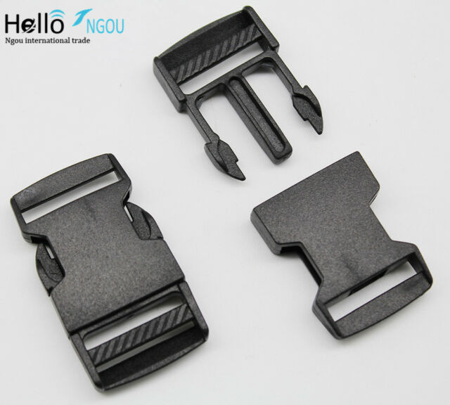 wholesale 12pcs 1~5CM Backpack buckle Plastic buckle accessories Safety clasp