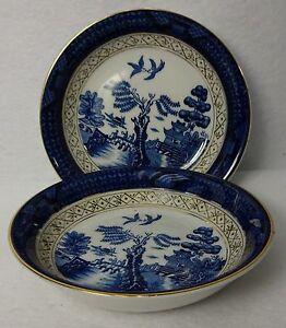 Set2 Blue Willow Japan Berry Bowls
