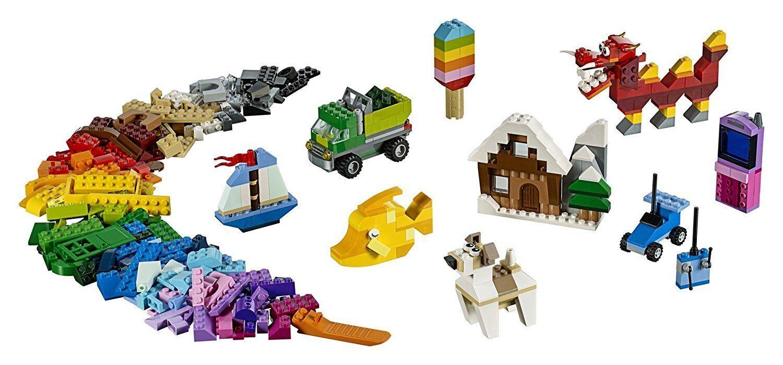 LEGO Classic creativi-steinebox 900 pezzi giocattoli da costruzione Bambini 10704