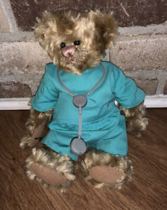 Vintage Cottage Collectibles By Ganz Doctor Bear W Telescope Teddy Bear Ebay