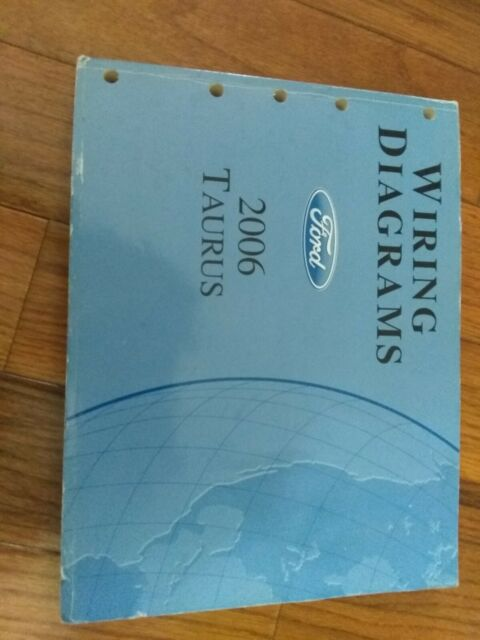 2006 Ford Taurus Electrical Wiring Diagram Manual Se Sel 3