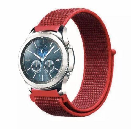 ✅ Für AMAZFIT Smartwatch Bip Lite GTS GTR Armband 20mm 22mm Nylon Loop ✅