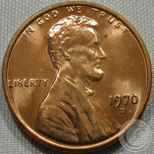 1970-D UNC LINCOLN MEMORIAL PENNY NICE COIN **MAKE AN OFFER**