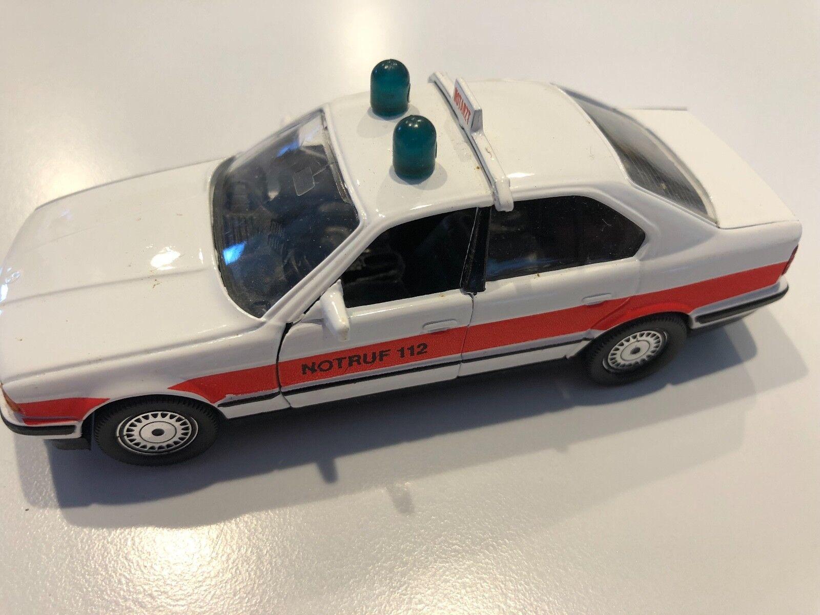 BMW 535i E34  notruff 112  biancao 1 43 escala Diecast Modelo