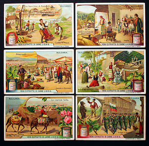 Liebig-Bulgaria-Italy-Italy-6-Pictures-Lot-H-6508