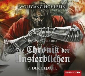 WOLFGANG-HOHLBEIN-DIE-CHRONIK-DER-UNSTERBLICHEN-TEIL-7-DER-GEJAGTE-4-CD-NEW