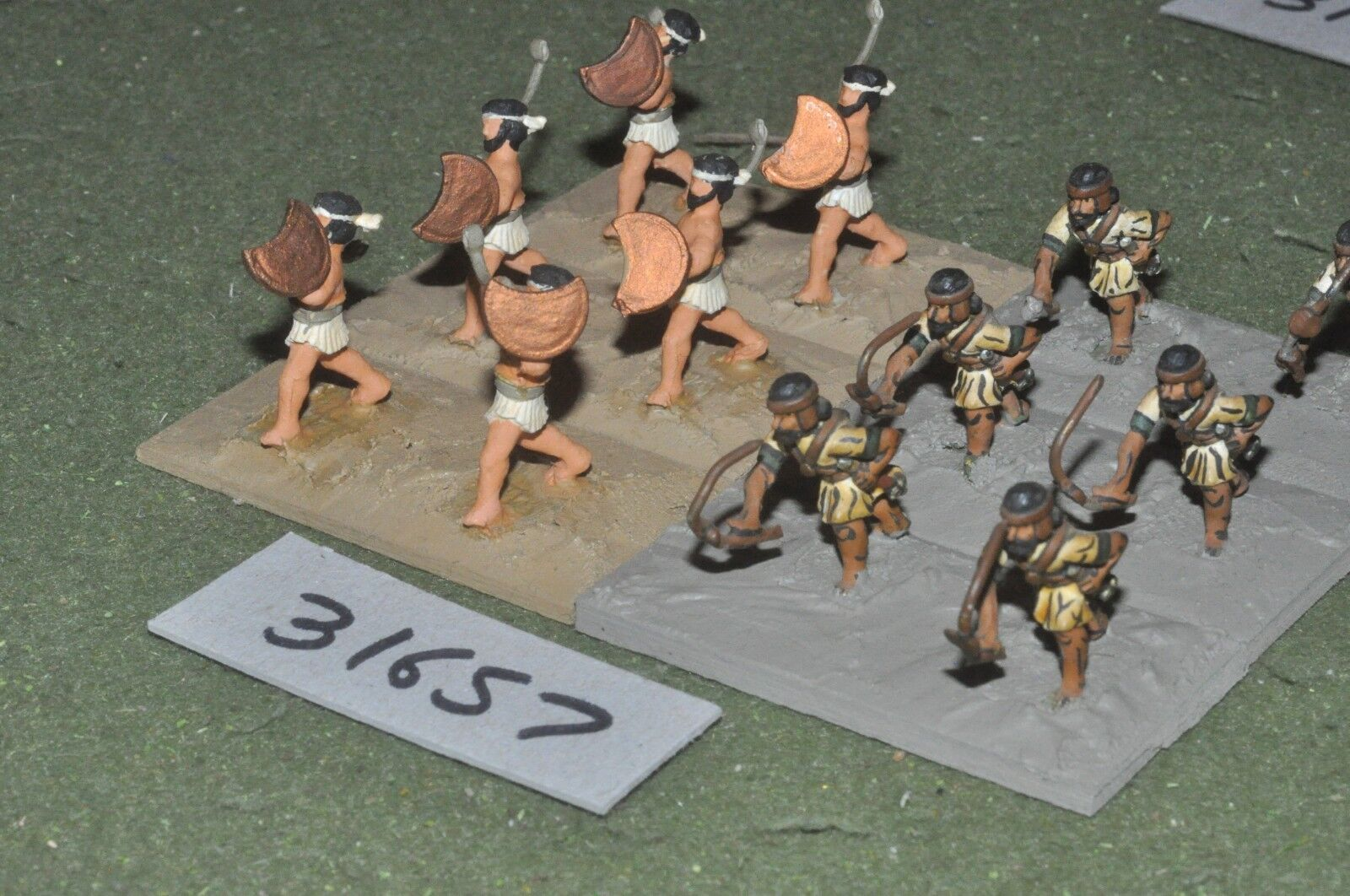 25mm 25mm 25mm classical   greek - skirmishers 12 figures - inf (31657) 5d1877