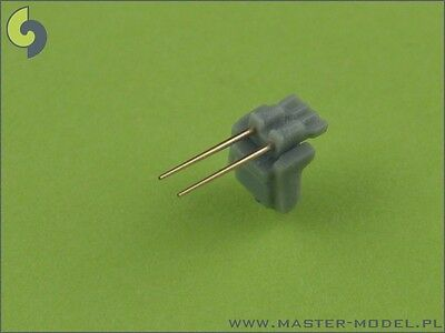 3,7cm/83 SK C/30 FLAK BARRELS 20PCS BISMARCK TIRPITZ GRAF SPEE 1/350 #045 MASTER