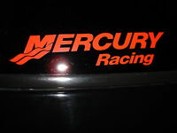 Mercury Racing Sticker Decal Red Race Boat Outboard You Get 2