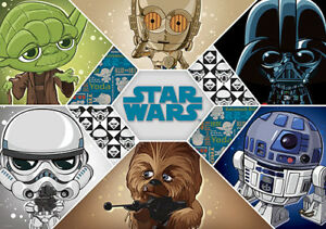 312x219cm-non-woven-wallpaper-mural-Star-Wars-cartoon-childrens-amp-adults-bedroom
