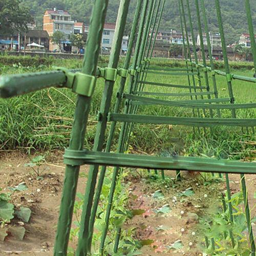 5Pcs Plastic Plant Fix Clips Rack Stem Climbing Vine Support Gardening Toolsx1