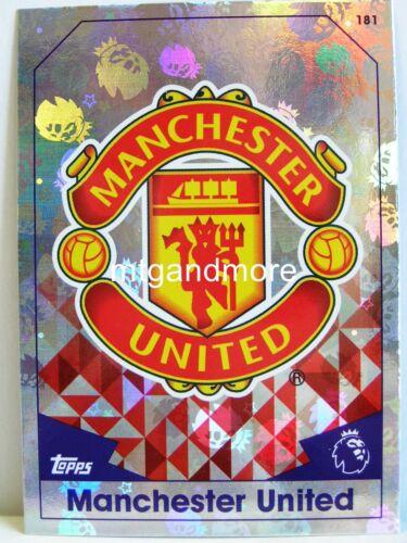 #181 Manchester united-Armoiries Match ATTAX 2016//17 premier League