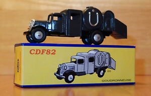 Club-Dinky-France-CDF82-Goudronneuse-Retro-Style-Boxed-Model-CDF-82-2012