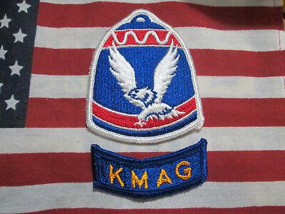 KOREAN MILITARY ADVISORY GROUP LOT OF 20 VIETNAM ERA KMAG PATCHES /& ROCKER TABS