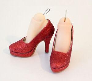 1//3 bjd SD13 SD16 girl doll glitter red high-heels dollfie dream ship US