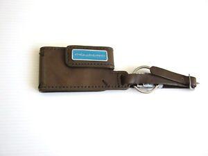 Angebot! Piquadro Schlüsselanhänger Neu Echtes Leder Original Geschenkidee