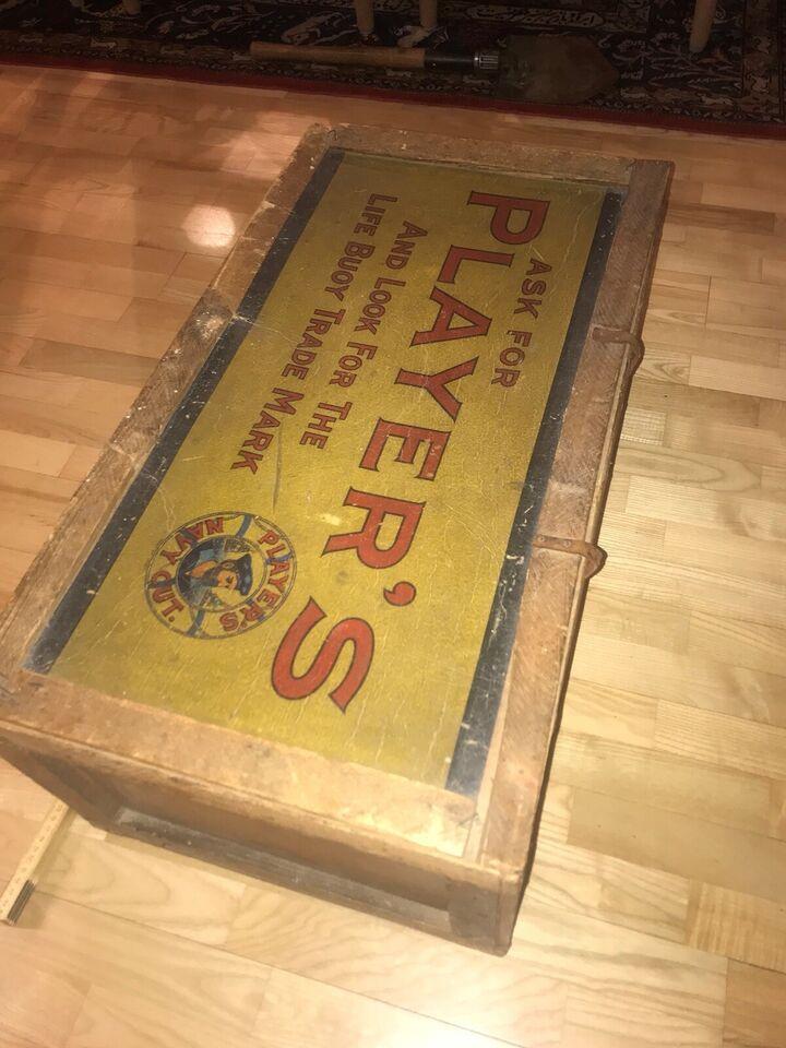 Militær, ww2 militær forsendelses kasse for NAVY CUT cigar