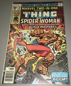 MARVEL TWO-IN-ONE #30 Key Origin & 2nd Appearance App SPIDER-WOMAN