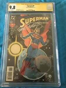 Superman-86-DC-CGC-SS-9-8-NM-MT-Signed-by-Dan-Jurgens