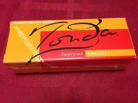 One Box Of 5 - Zonda Supreme Bb Clarinet Hand Select Reeds 2.5 H