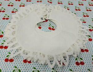 12-Piezas-Battenburg-Encaje-Ribete-Algodon-Blanco-8-034-Victoriano-Bordado-Vestido
