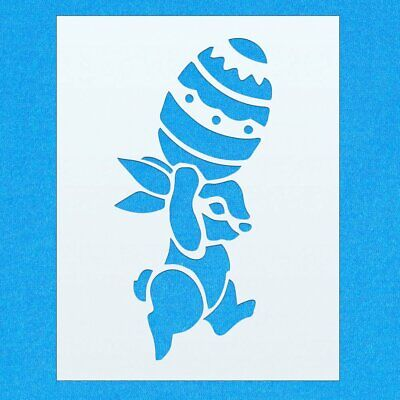 Easter Egg Happy Easter A4 Mylar Reusable Stencil Airbrush Painting Art Craft