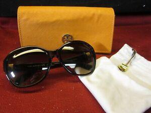 Tory-Burch-9029-510-13-Tortoise-Brown-Sunglasses-w-Case-amp-Bag-EXC