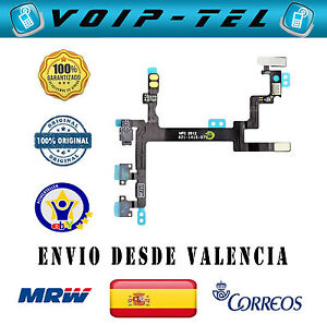 IPHONE-5-5G-CABLE-POWER-BOTON-ENCENDIDO-FLEX-VOLUMEN-SILENCIO-MUTE-ORIGINAL
