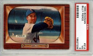 1955-Bowman-214-Billy-Pierce-White-Sox-PSA-3