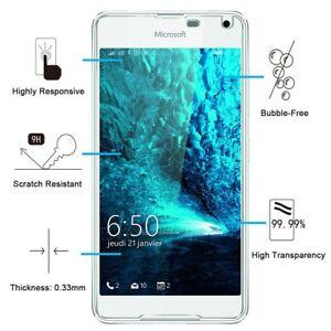 Film Vitre Verre Trempé Protection D'écrans Microfost Lumia 630/640/650/950/550 Remises Vente
