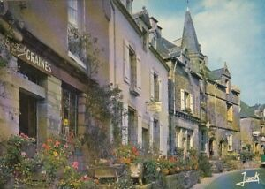 Rochefort-en-Terre, Bretagne, Le Grand Rue ngl G4646
