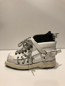 sports shoes 4c213 f15b9 Details about Acne Studios New $1,250 Heidi High Top White Leather Boots  (Size: 35EU/5US)
