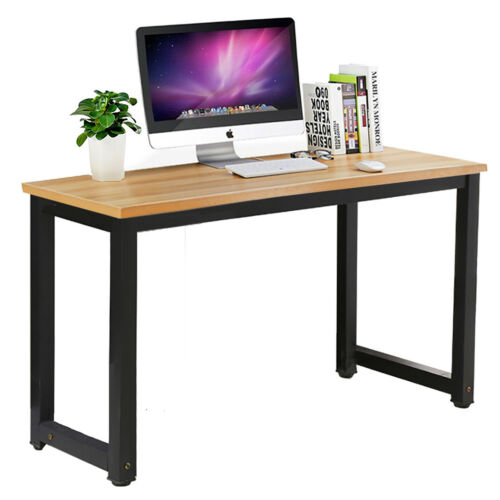 Simple Computer Desk PC Laptop Table Workstation Study Home Office Furniture